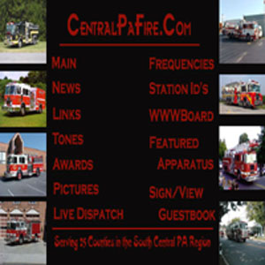 Central PA Fire Page